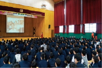 Boeun Municipal Chapter of Chungcheongbuk-do - Visiting Youth Unification Education
