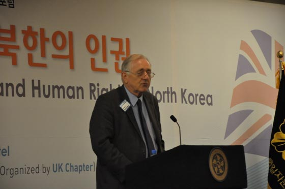 Peter Bottomley, Secretary General of All Party Britain-Republic of Korea Parliamentary Group